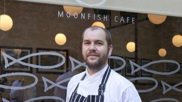 Moonfish chef Brian McLeish ready for Novelli bake off