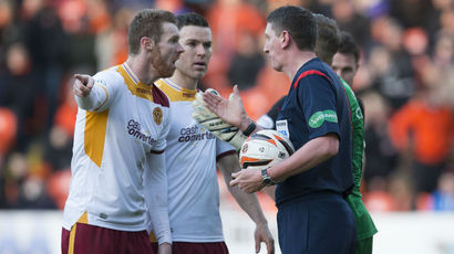 Baraclough confused by call to disallow Motherwell goal at Tannadice