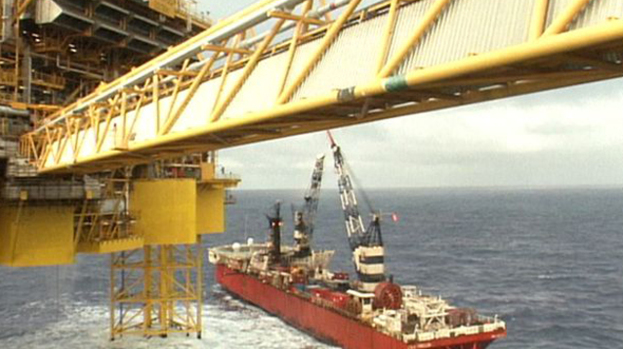 Elgin platform: Any ignition could cause huge explosion on rig.