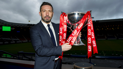Confident Derek McInnes relishing next stage in League Cup defence
