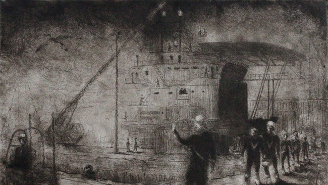 Aberdeen Harbour inspired artist wins Royal Society approval