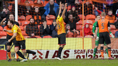 See Partick Thistle claim a comfortable 2-0 win at Dundee United