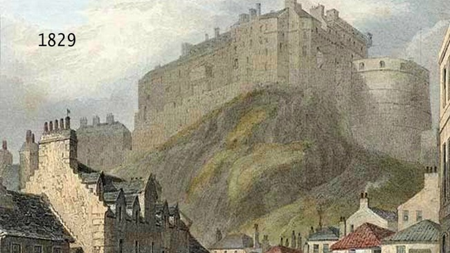 Then and Now: History blogger's photos captures Edinburgh's past