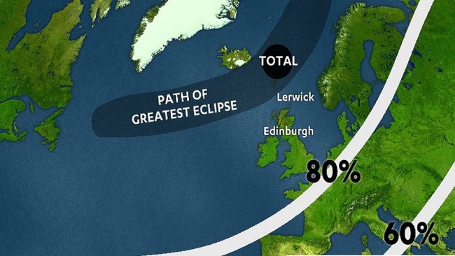 Key times to watch the biggest solar eclipse in 61 years