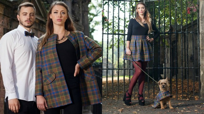 First look at the designs from Greyfriars Tartan Fashion Show