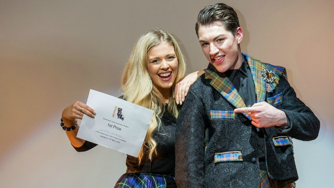 The designer with the drive to bring the kilt into 21st century