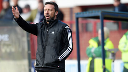 McInnes claims Aberdeen should have been awarded 'blatant' penalty
