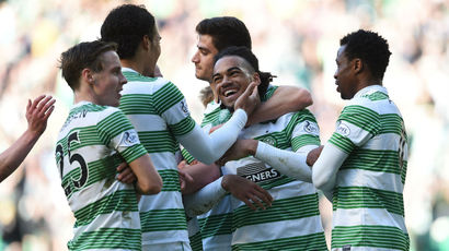 See Celtic claim a comfortable 3-0 Premiership win over Dundee United