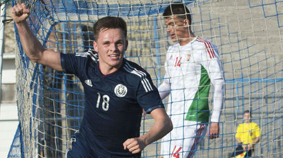 Lawrence Shankland double gives Lennon victory on Scotland U21 bow