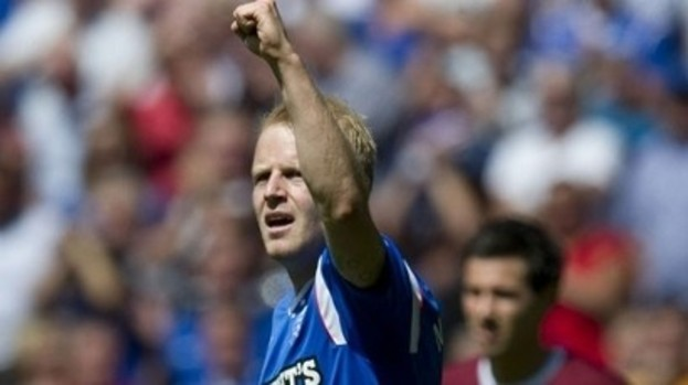 Rangers forward Steven Naismith hasn't played for the club since injuring his knee in October last year.