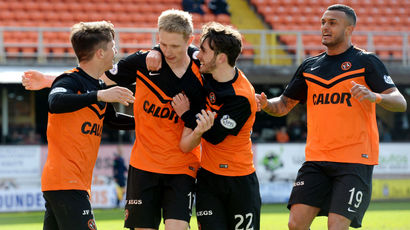 Dundee United assistant: Sense of relief after returning to winning ways