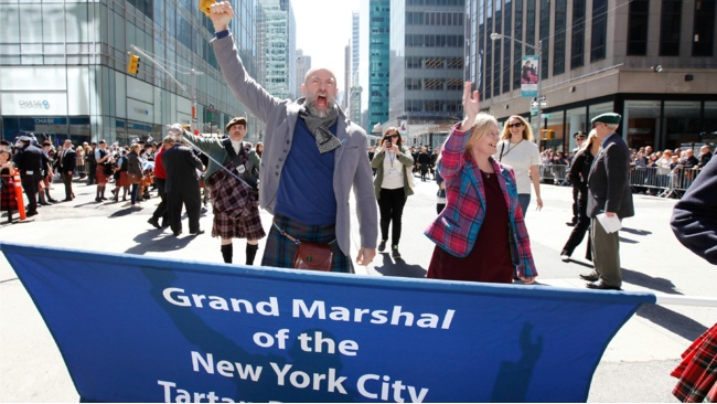 In Pictures: Hobbit star leads Tartan Week celebrations in Big Apple
