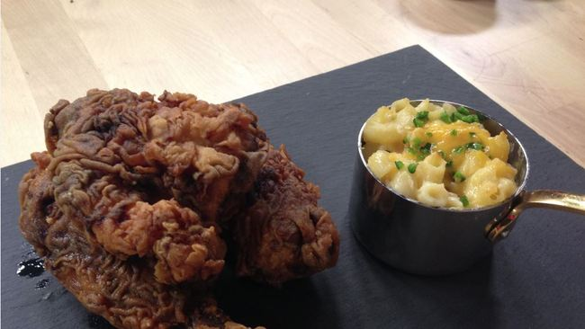 Tea For A Tenner Southern Fried Chicken With Easy Mac N Cheese