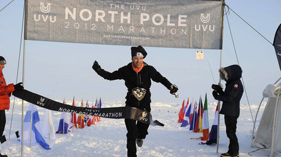 Dr Andrew Murray: Ran North Pole marathon in 4hrs 17mins.