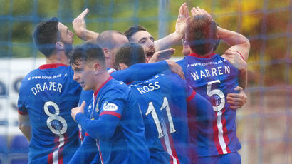 See Inverness record a third Premiership win over Dundee Utd this season