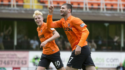 Watch highlights of Dundee United's 3-0 derby win over rivals Dundee