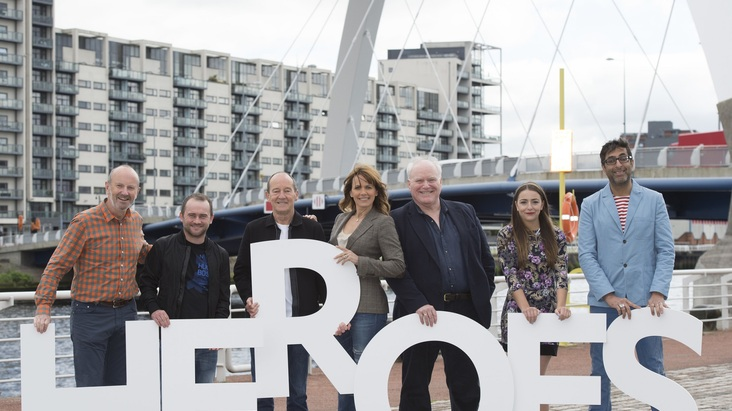 Finding Scotland's Real Heroes 2015 launch