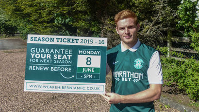 Hibernian tie up midfielder Fraser Fyvie on a new two year contract
