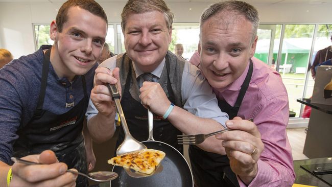 The chips are down for World Tattie Scone Championship