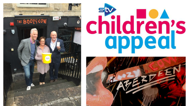 The Boozy Cow to donate profit to STV Children's Appeal