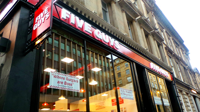 Legendary 'Willy Wonka of burgercraft' Five Guys outlet to open in Dundee