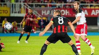 Shkendija 1-1 Aberdeen: Dons score crucial away goal in Macedonia