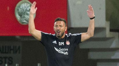 Derek McInnes remains confident of Aberdeen's Europa League chances