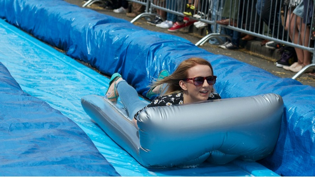 Giant waterslide set to take over Belmont Street