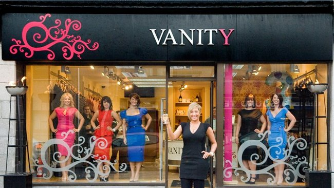 Vanity clothing stores