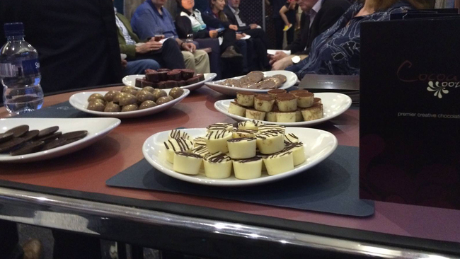Sweet treats delight passengers on London sleeper train