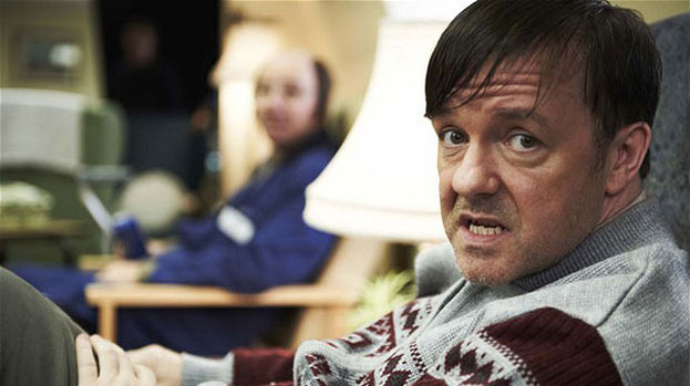 Ricky Gervais as Derek: character's name trended on Twitter after show aired last night