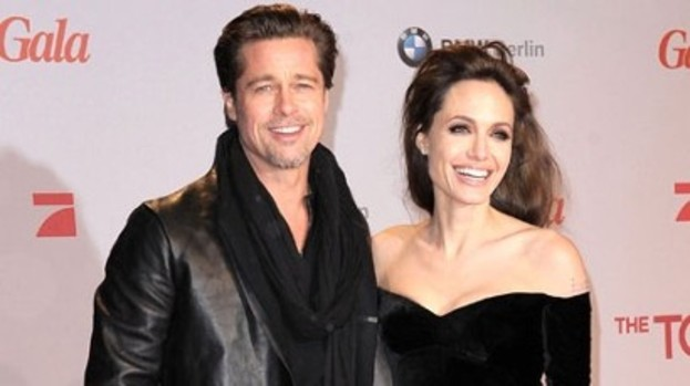 Double trouble: Brad Pitt and his partner Angeline Jolie look set to land roles in The Counselor