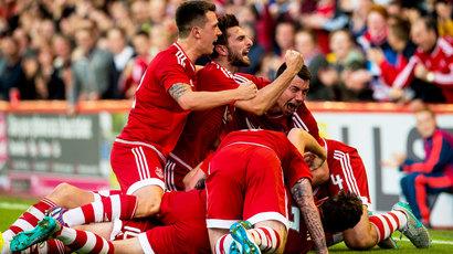 Aberdeen 2-2 Rijeka: Dons progress 5-2 on aggregate despite nervous spell