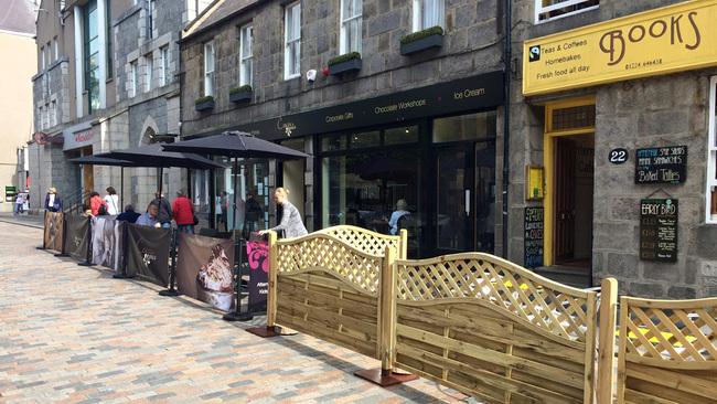 Ten days on, has Aberdeen's cafe culture bid been a success?