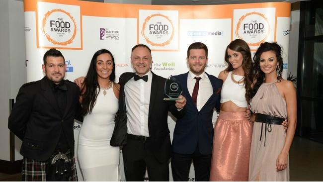 Glasgow winners revealed for the Food Awards Scotland 2015