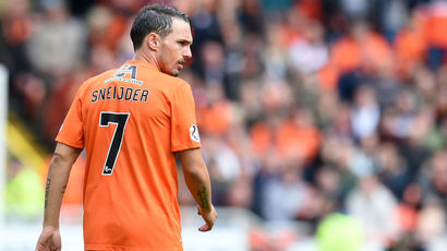 Rodney Sneijder's Dundee United contract terminated after illness