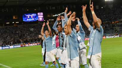 Delight for Malmo as they progress to the group stages of the Champions League
