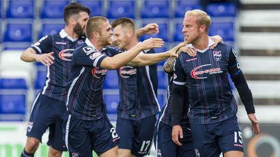 Ross County 2-1 Dundee Utd: Boyce and Davies goals secure Staggies win