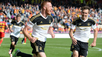 Partick Thistle 0-2 Aberdeen: Dons equal 31-year club record with win