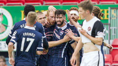 See highlights of Ross County's hard-fought win over Dundee United