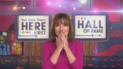 You Saw Them Here First - Lorraine Kelly