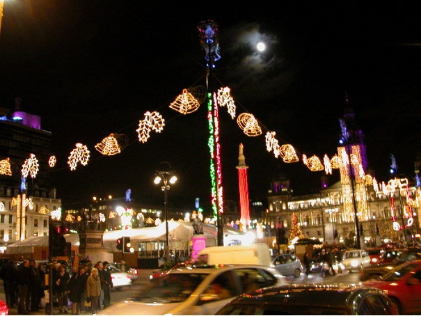Revellers to be charged for Glasgow's Christmas lights switch-on