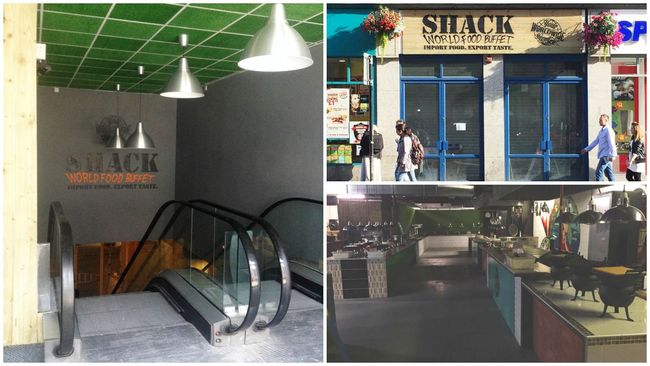 Shack set to open street food-inspired basement buffet