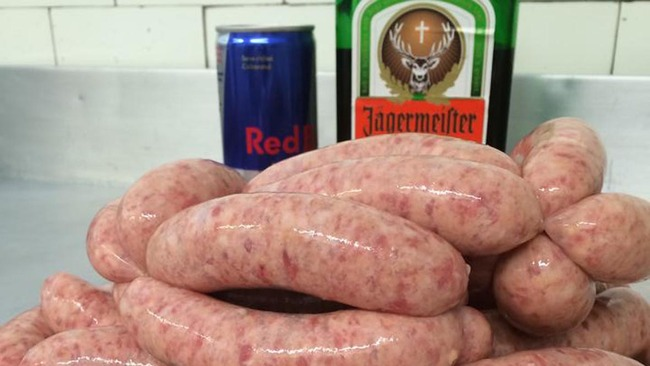 Jagerbomb bangers spark explosion of interest for Aberdeen butcher