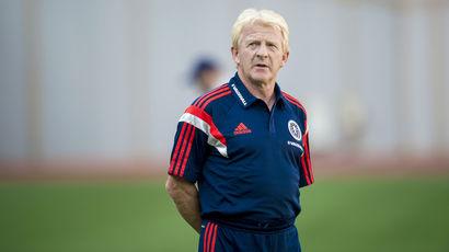 Scotland manager Gordon Strachan in Georgia, September 2015.