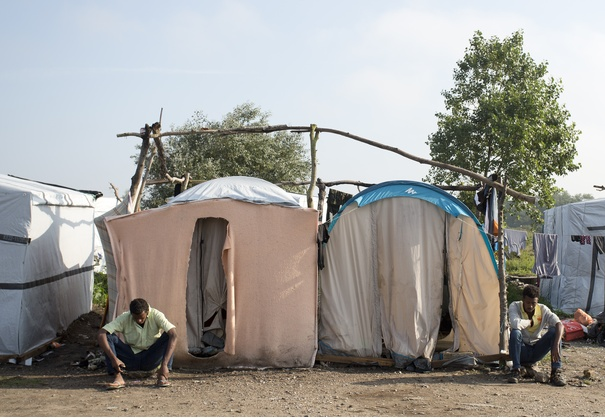 Scotland rallies behind refugees as humanitarian crisis escalates 366214-refugees-at-the-camp-in-calais-also-known-as-the-new-jungle