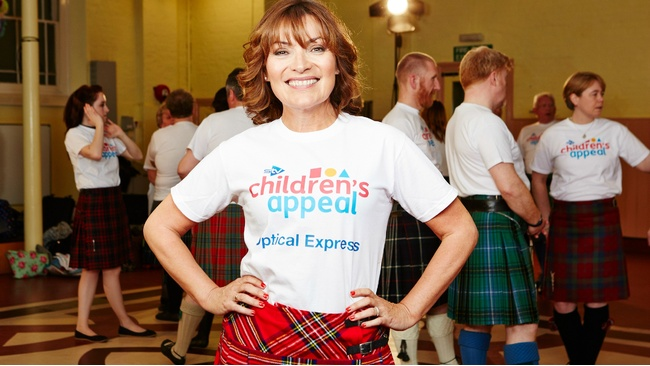 Lorraine Kelly announces 24-hour ceilidh challenge across Scotland