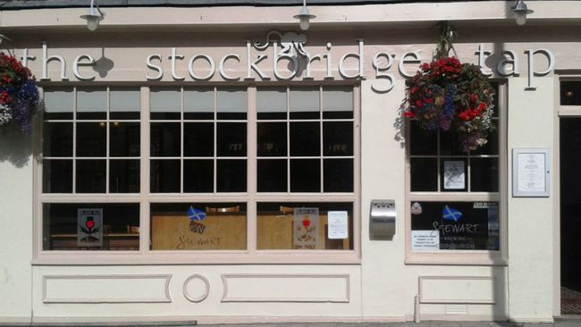 The Stockbridge Tap named Scotland's Pub of the Year