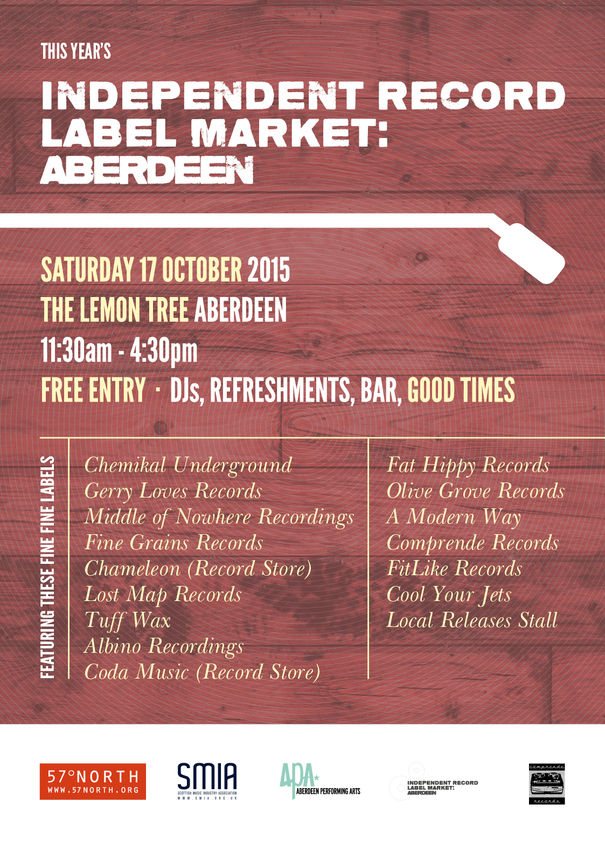 Scottish Independent Record Label Market To Be Staged In