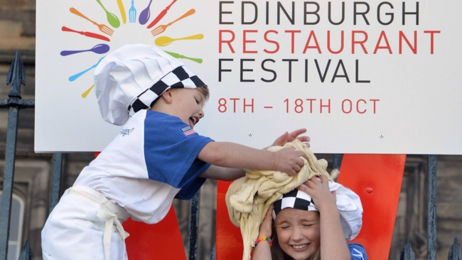 Street food festival and cocktail cinema at Edinburgh Restaurant Festival